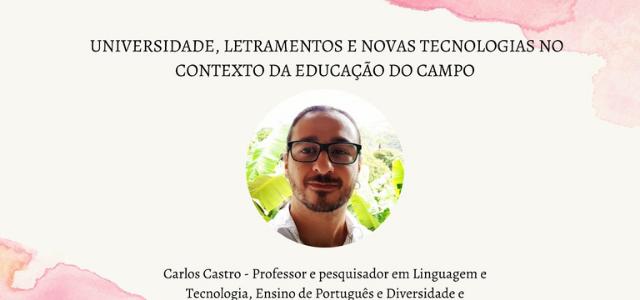 Universidade, letramentos e novas tecnologias no contexto da Educação do Campo