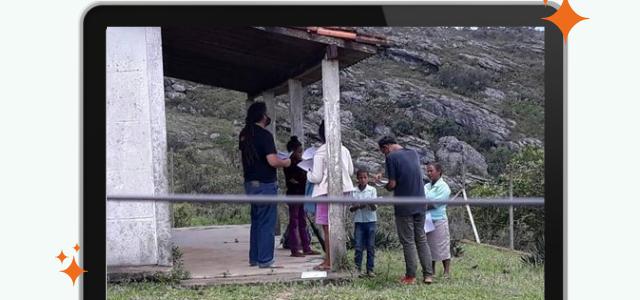 Alguns números sobre o ensino remoto nas comunidades da Barra da Cega, Jacutinga e Córrego da Areia